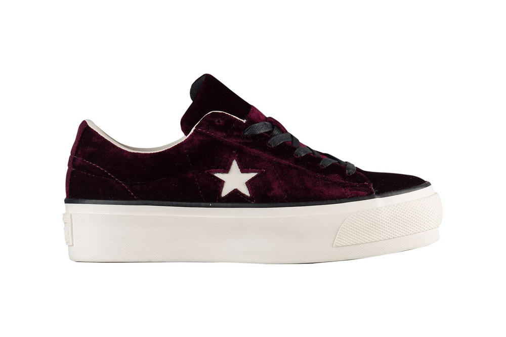 A burgundy beauty. Converse One Star Platform Ox Dark Sangria ff40d88ec