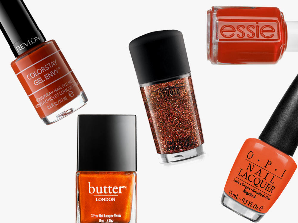 Nail Polish Burnt Orange essie OPI butter London MAC Revlon