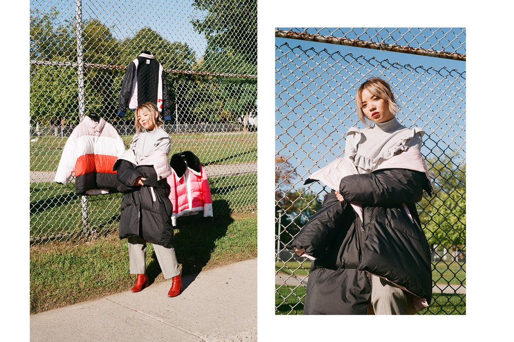 Dani Roche Outerwear Brand Biannual Unisex Editorial HYPEBAE Exclusive Editorial Kastor and Pollux