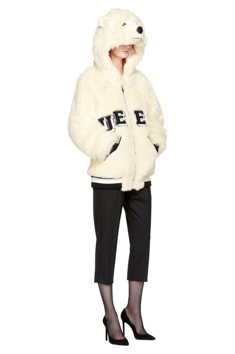 Dolce & Gabbana Queen Polar Bear Jacket