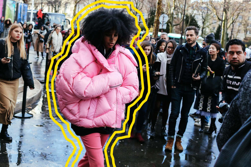 HYPEBAE Editors Style Guide How To Wear Puffer Jackets Outfit Inspiration Looks Trend Vetements Weekday Acne Studios Common Projects COS Marques Almeida Quay Victoria Beckham
