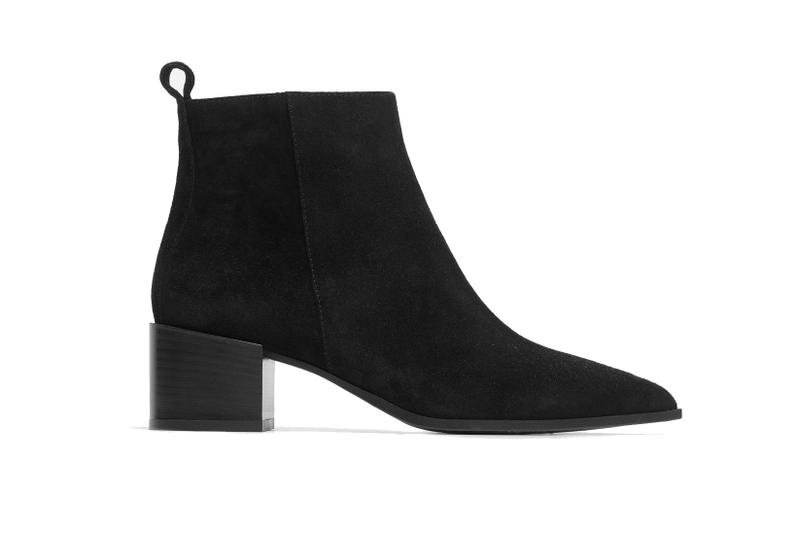 Everlane Women's Boss Boots Business Ready Leather Heels Velvet Suede Color Handcrafted Italy