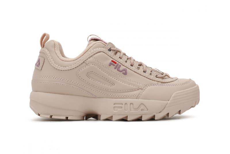 FILA Disruptor Low Woodrose Pink Chunky