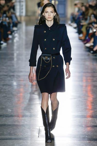 Clare Waight Keller Givenchy Spring Summer 2018 Paris Fashion Week Recap Chloe Riccardo Tisci