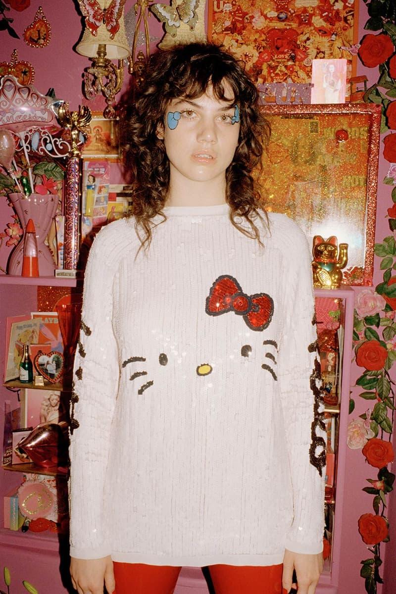 Hello Kitty ASOS Collection Sanrio Dabbing Hoodie Heels Bracelet