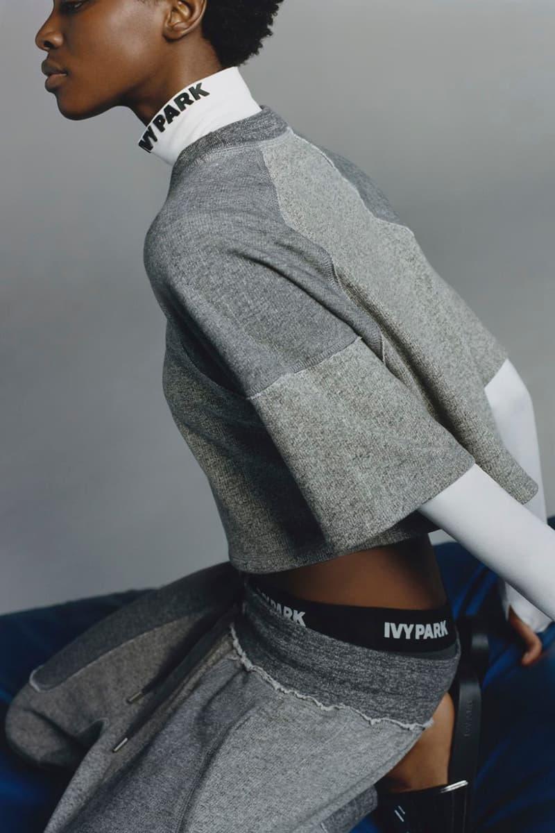Beyonce Ivy Park Fall Winter 2017 Lookbook Athleisure Activewear Sports Sportwear Collection Leggings Slides Jacket Hat Performance Wear