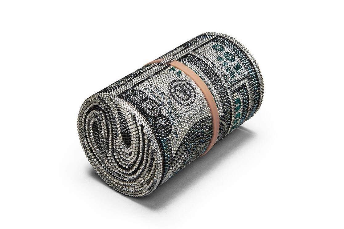 8b89168dc Alexander Wang Money Bag with Swarovski Crystals | HYPEBAE
