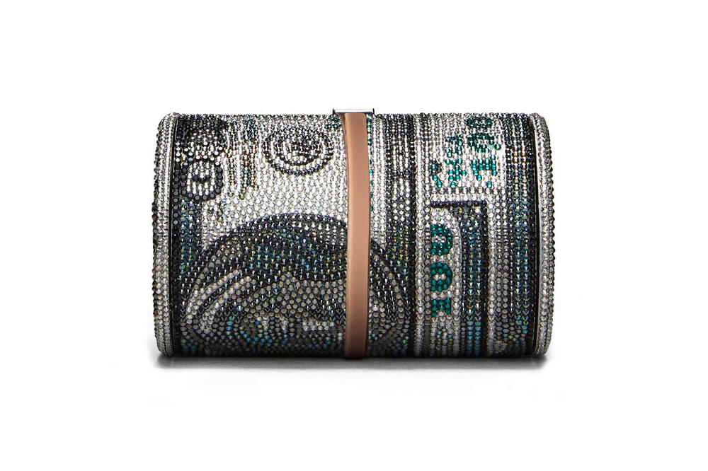 Judith Leiber Alexander Wang Bag Silver Money Bag