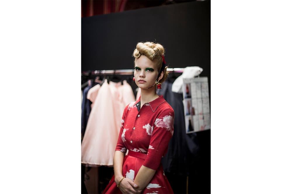 UNDERCOVER Spring Summer 2018 Backstage Jun Takahashi Paris Fashion Week