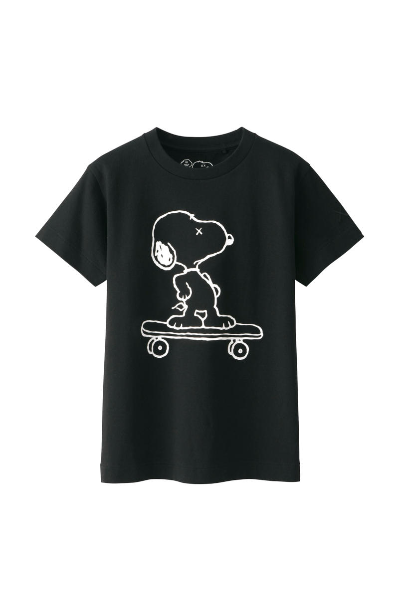 KAWS Peanuts Uniqlo UT Collection Collaboration Snoopy Cartoon Print Popular colette Art Streetart