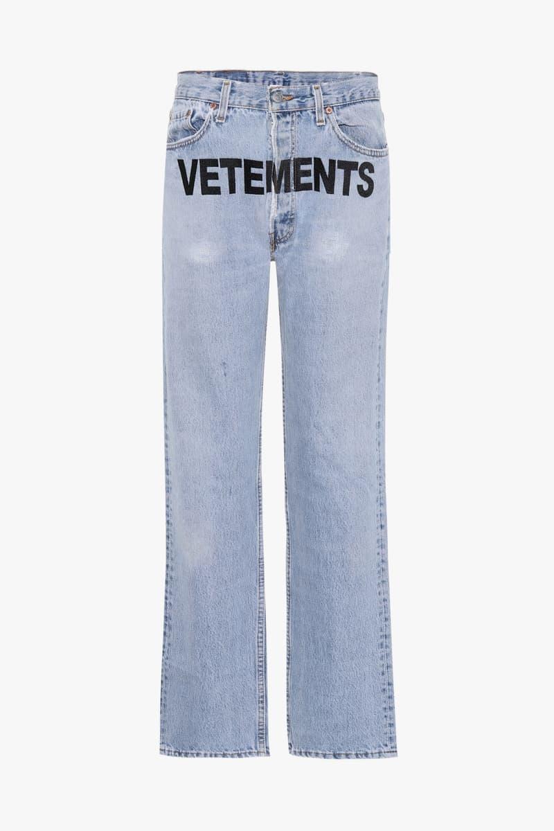 Vetements Levi s Denim Jeans Collaboration Demna Gvasalia mytheresa.com 5361022b4b4b