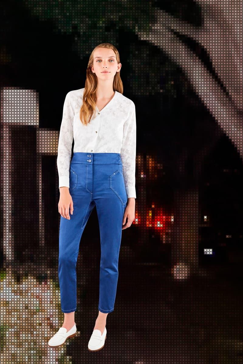Maison Kitsune Spring Summer 2018 Lookbook Romance Feminine Fashion Silhouettes Clothes Imagination Paris Miami Los Angeles