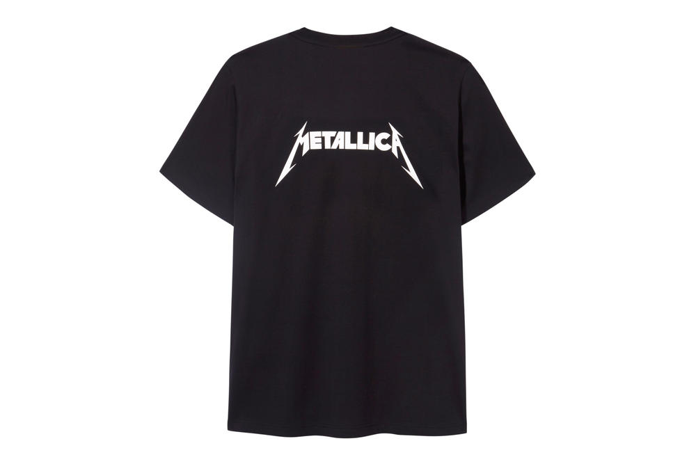 Selfridges London Exclusive Metallica Capsule Collection Justin O'Shea Band T-Shirt Logo Heavy Metal Legend Typography Rock Music