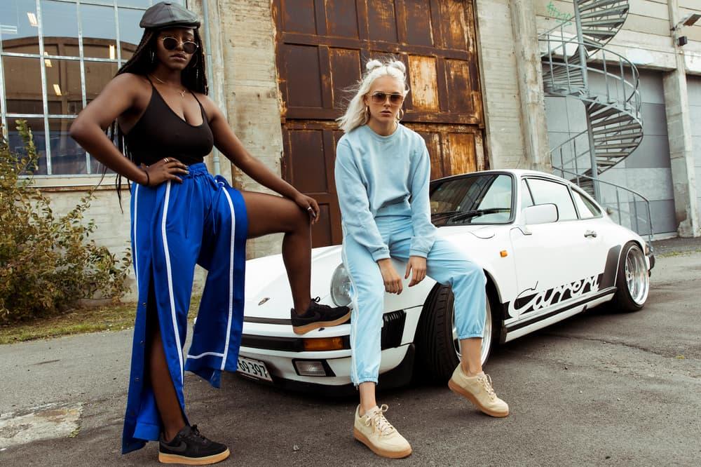 NAKED Nike Air Force 1 Low Suede Editorial Pink Blue Black Tan Mushroom