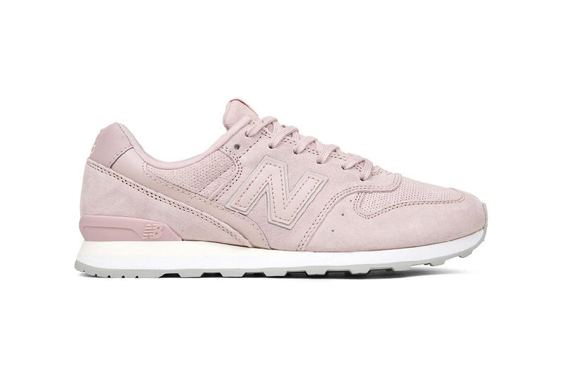 New Balance 696 All Suede Pack Dusty Rose Mint Green