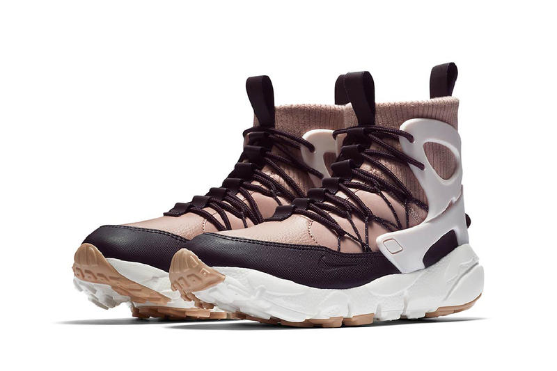 Nike Air Footscape Mid Utility Particle Pink Silt Red Sneakerboot