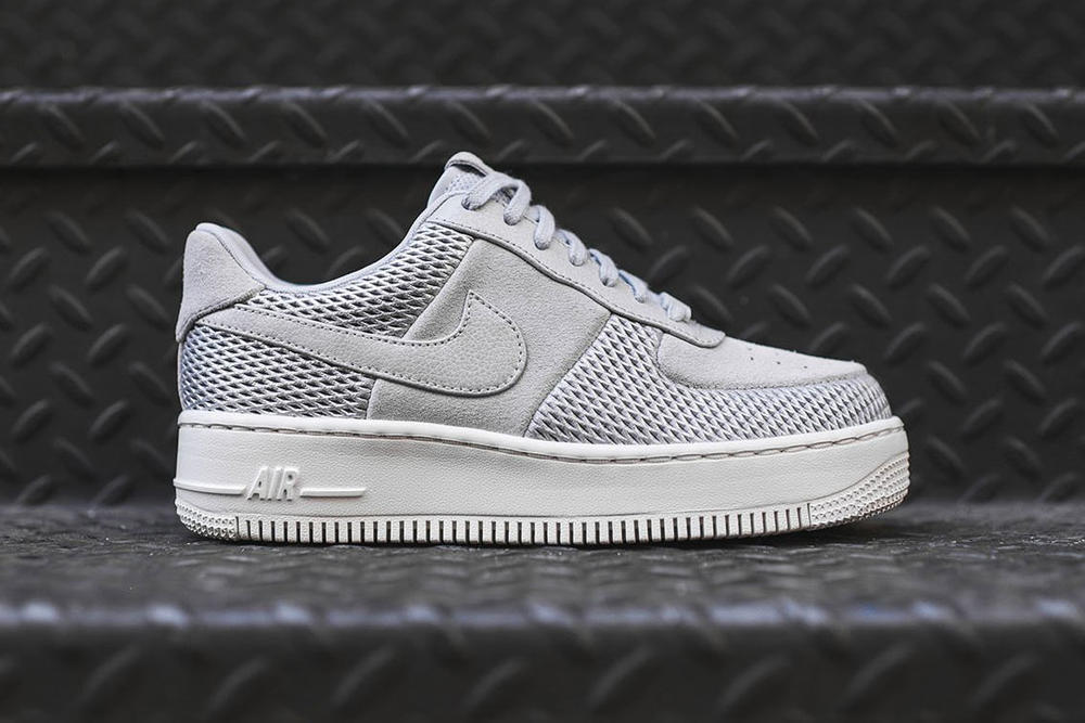 official photos e8f69 0e1e4 Nike Air Force 1 Upstep Low Grey White Is Clean | HYPEBAE