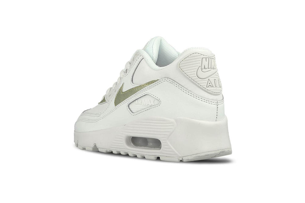 e7d4f8382a Nike Air Max 90 Summit White Metallic Gold Star
