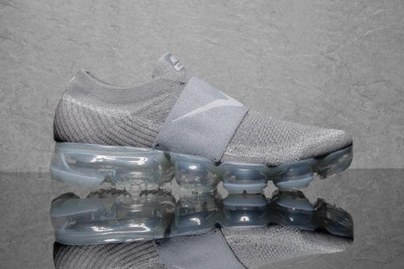9c40e5b90b2 Nike s Air VaporMax Goes Laceless in Light Grey. A practical update.
