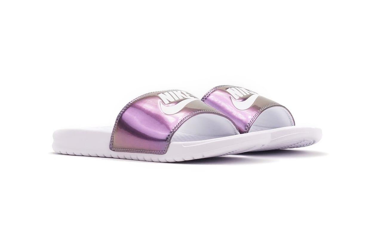 Benassi Slides Are Iridescent