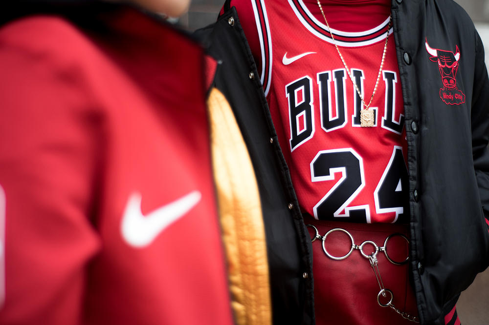 Nike Chicago Bulls Jersey Editorial NBA
