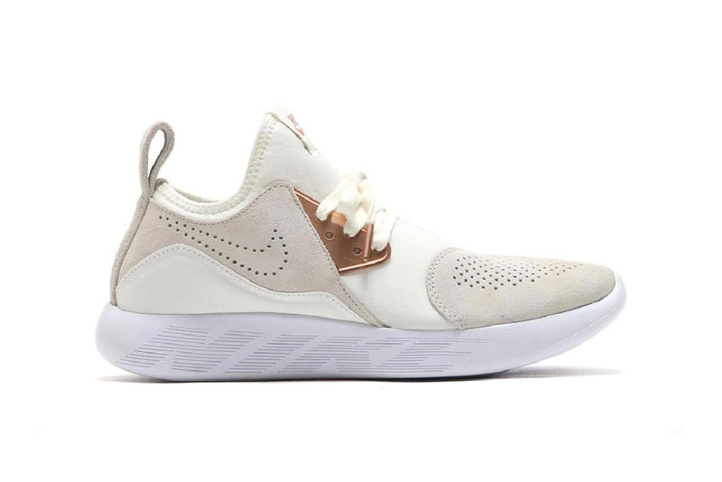sports shoes dfe34 52471 Nike LunarCharge Premium suede summit white black dark grey rose gold  metallic red bronze