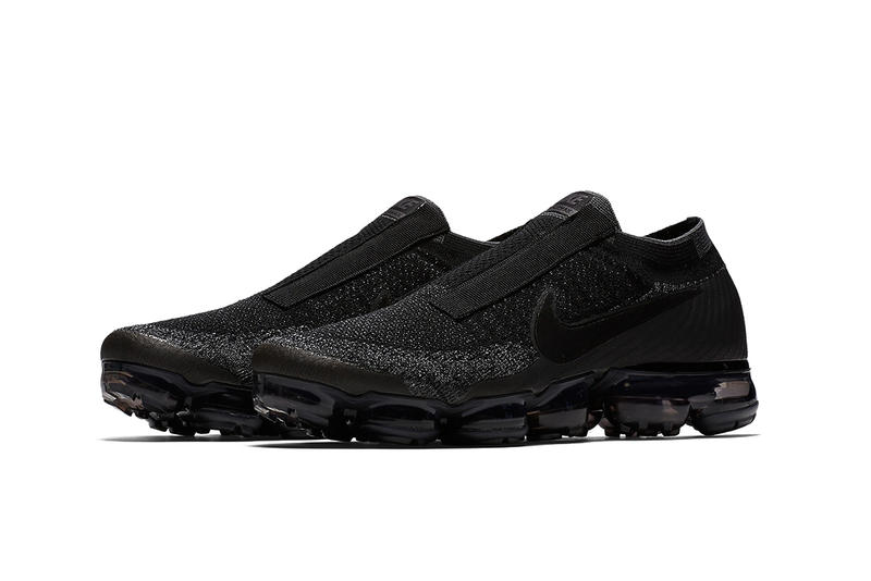 Nike Air Vapormax Laceless Release Date December Sneaker Flyknit Sole Black White Upper Innovative Silhouette Shoe
