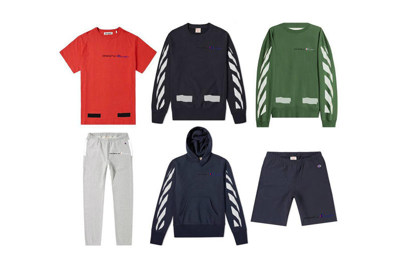Off-White x Champion Collection