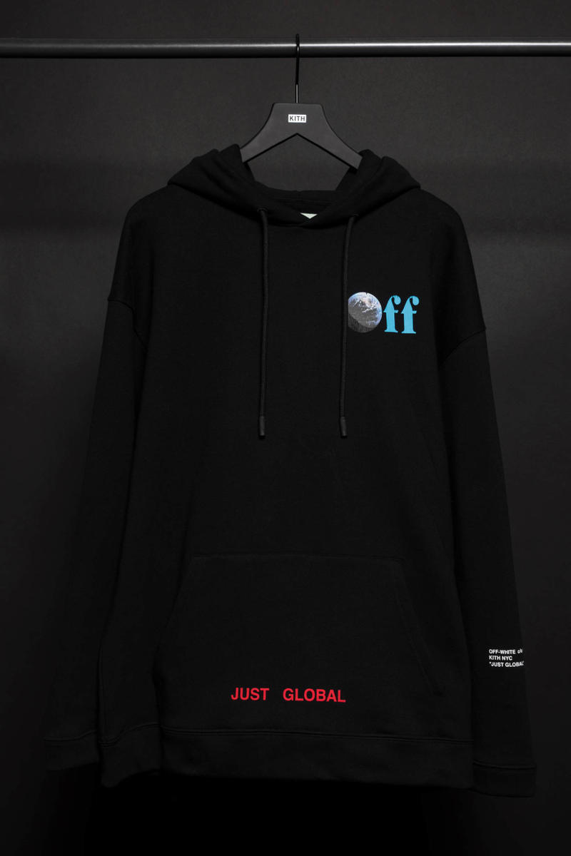 Off-White KITH JUST GLOBAL Collection Virgil Abloh Collaboration