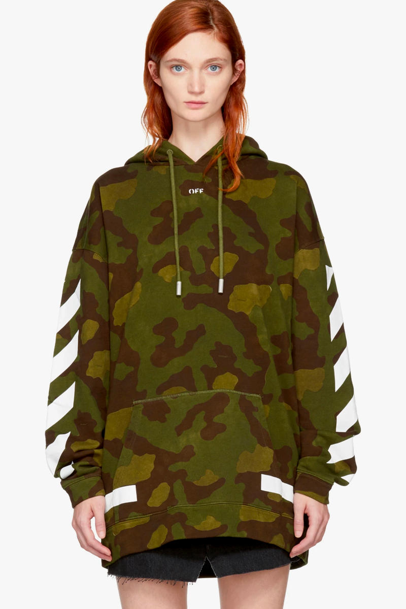 Virgil Abloh Covers Off White Hoodies In Camo Hypebae