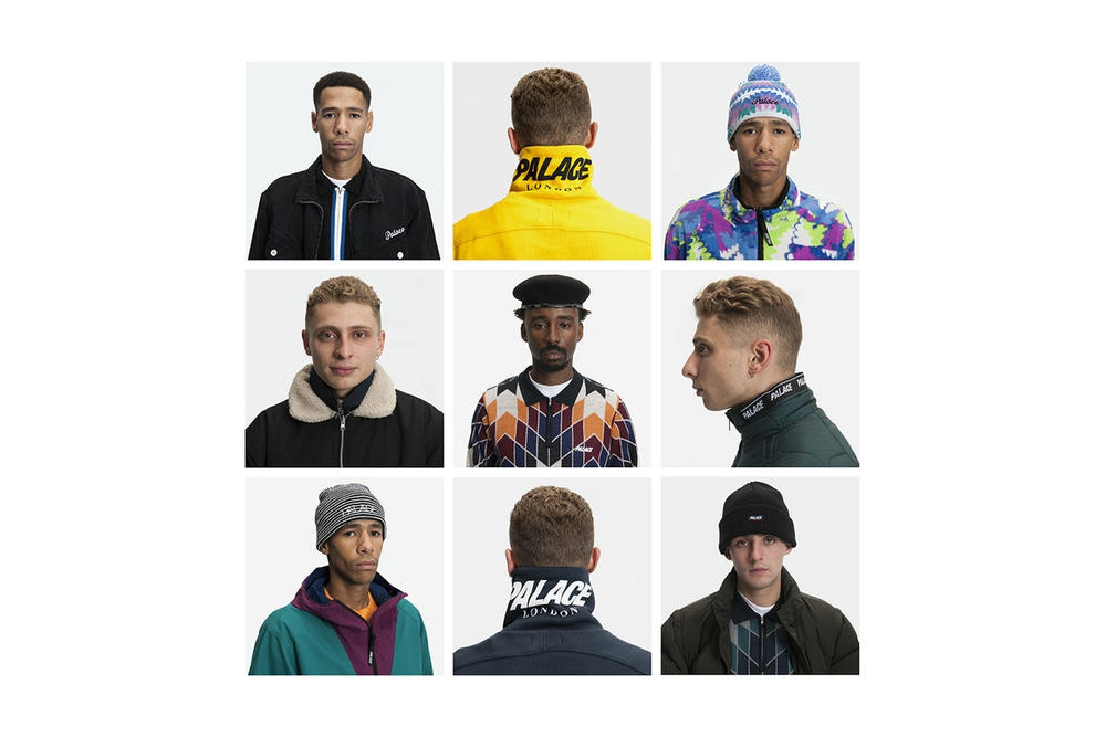 Palace Skateboards Winter 2017 Collection Lookbook Blondey McCoy