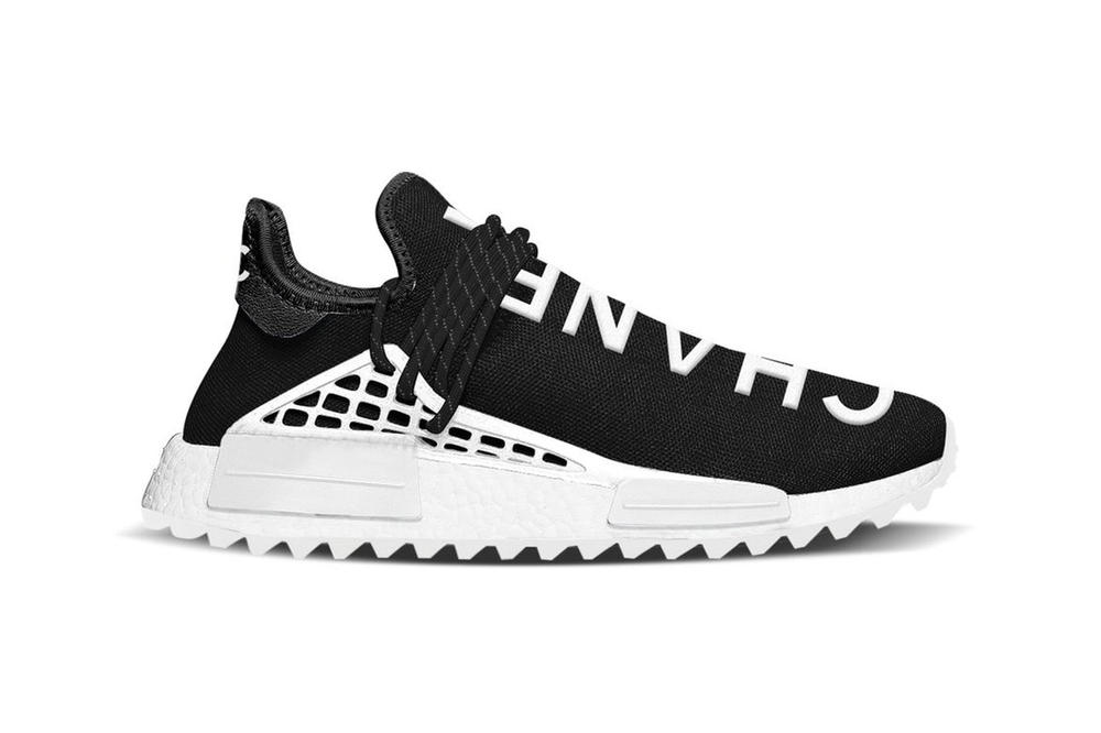 6f88af3a9 Pharrell Williams adidas Originals Chanel collaboration sneaker release  leak nmd