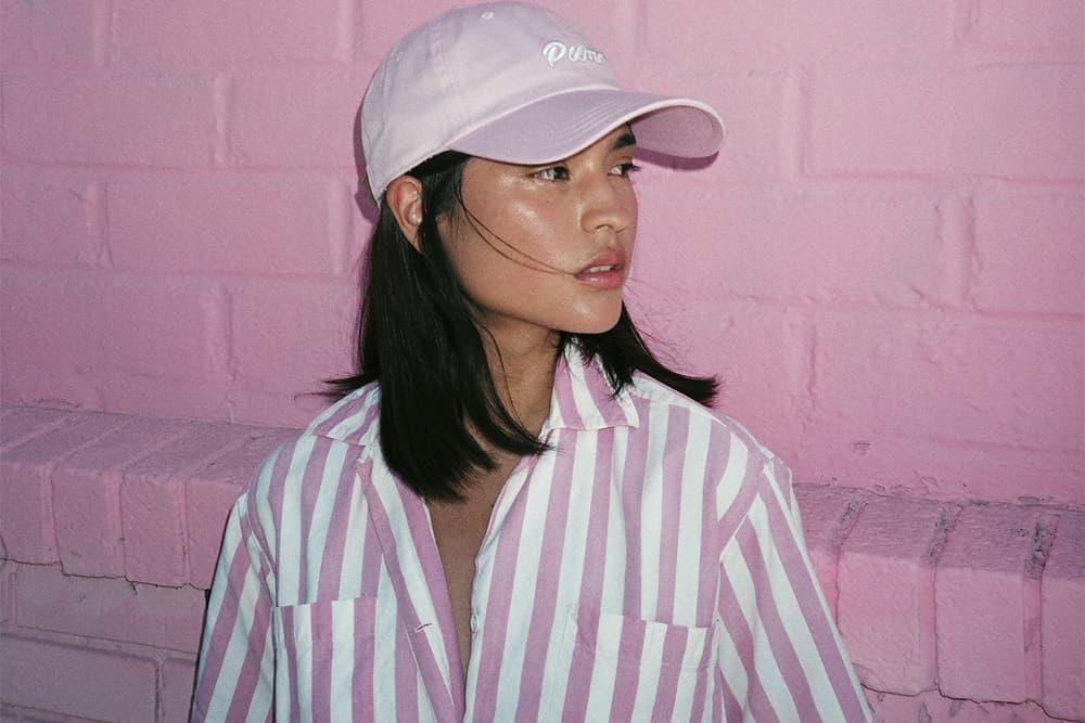 Gunner Stahl PUMA Collection Millennial Pink Cap