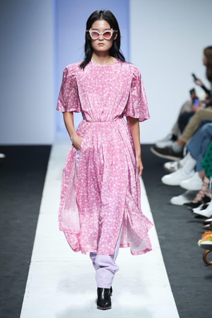 Pushbutton Spring 2018 Collection Seoul Fashion Week Korea Silhouettes Color Print Symmetry Experimental Edgy Unique Label