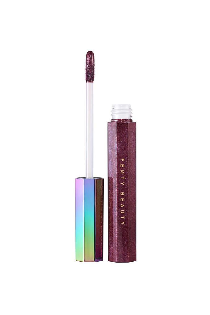 Fenty Beauty by Rihanna Cosmetics Holiday Galaxy Collection Glitter Lipstick Eyeliner Eyeshadow Makeup New Line Sparkle Color Lipbalm