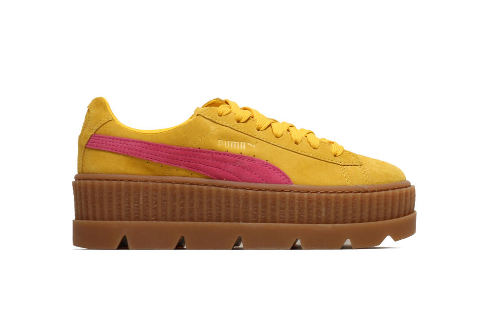 Rihanna Fenty PUMA Cleated Creeper in Rosen Lemon Vanilla Ice Carmine Fall Winter 2017 October Release Date Price