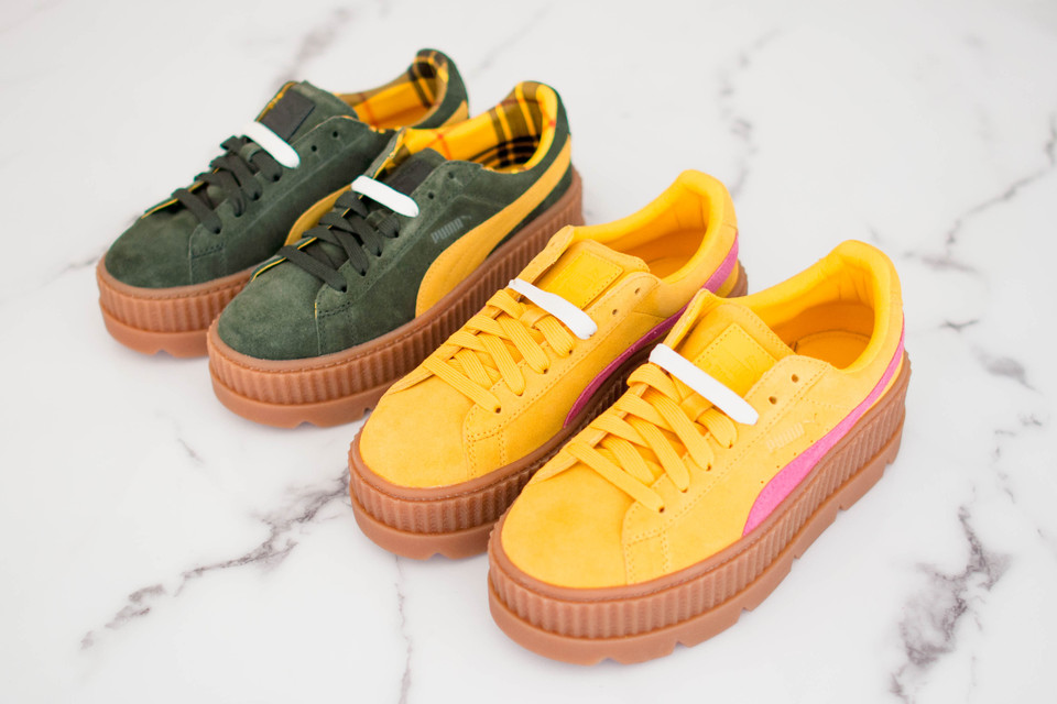 d1b6abc3e41517 Watch As We Unbox the New Fenty PUMA by Rihanna Cleated Creepers