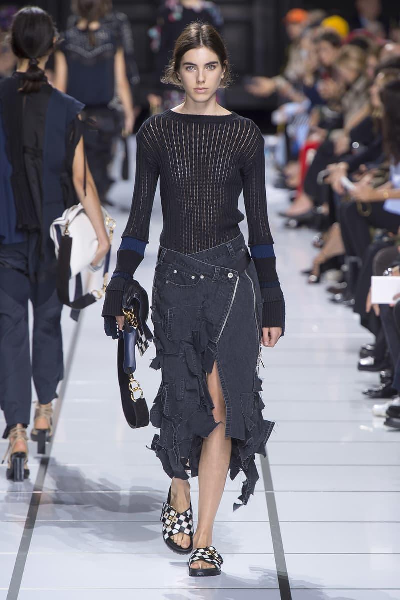 Sacai Spring Summer 2018 Collection Chitose Abe Paris Fashion Week