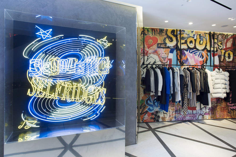 Selfridges Seoul Fashion Week Pop Up London
