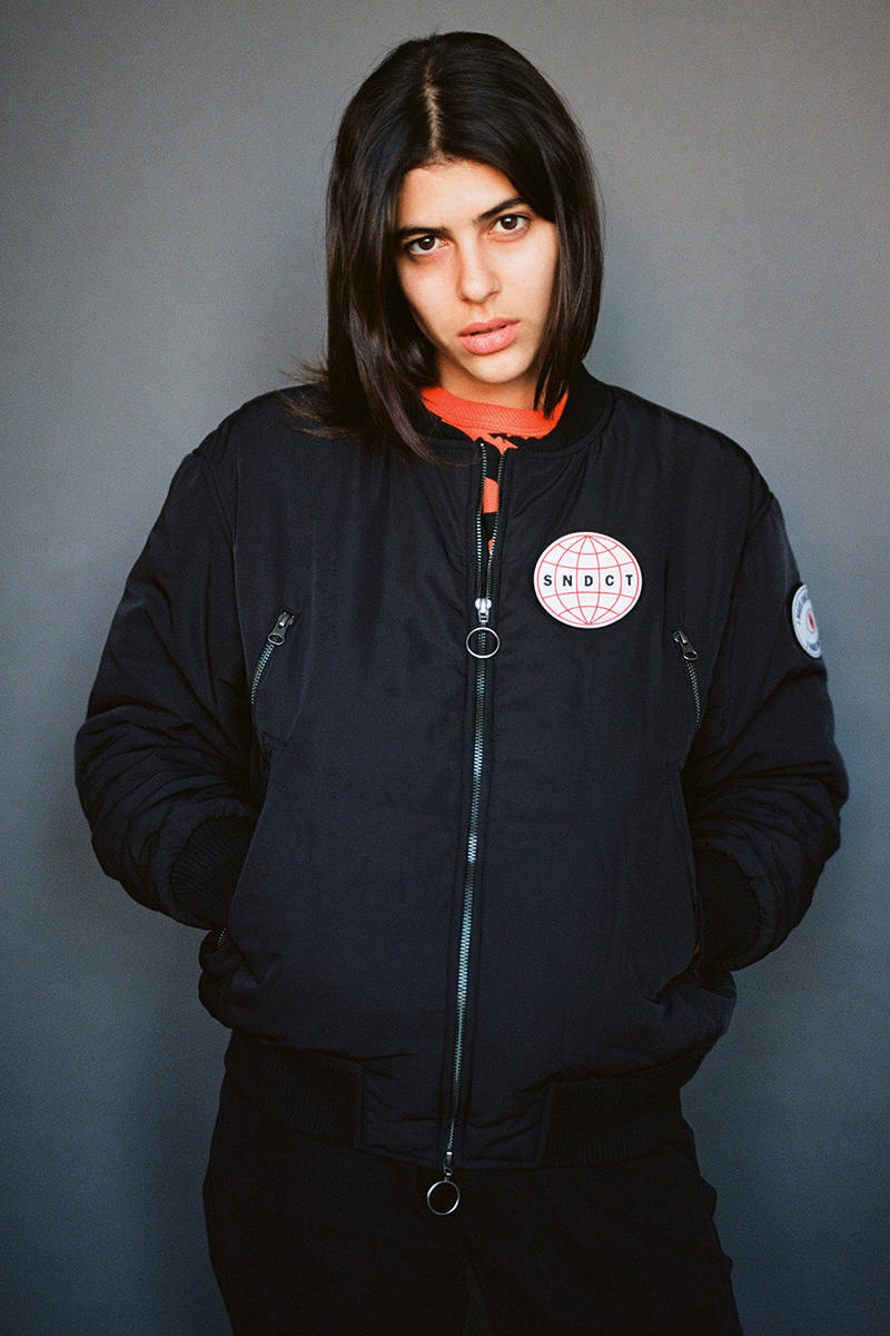 Syndicate Original Fall Winter 2017 Collection Print Bold Graphic Color Lookbook Edgy Statement Unique