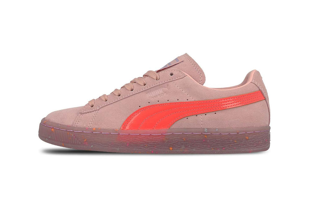 Sophia Webster PUMA Suede Crystal Rose