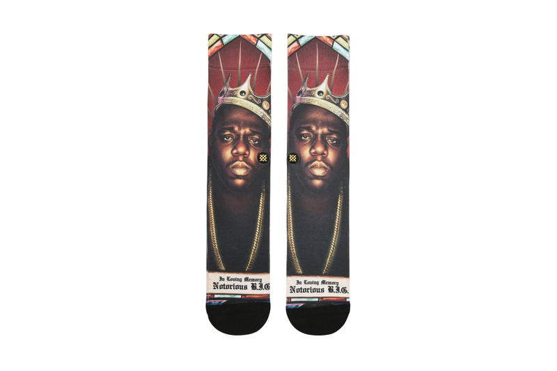 STANCE Legends of the Music Industry Collection Aaliyah Eazy-E The Notorious B.I.G Icons Homage Socks