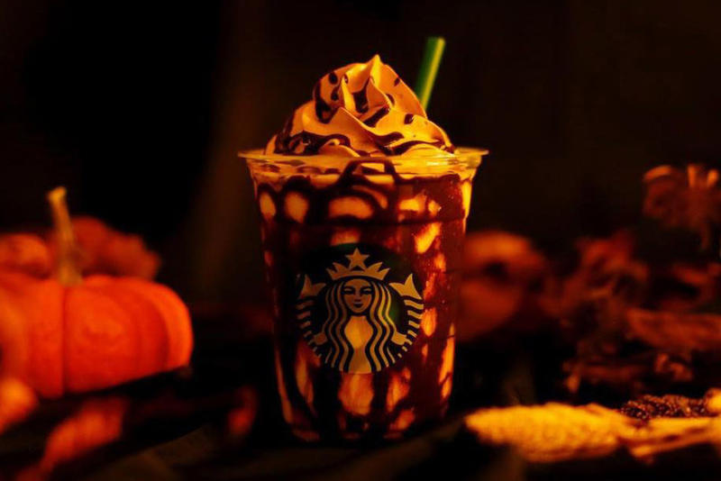 Starbucks Japan Halloween Mystery Frappuccino