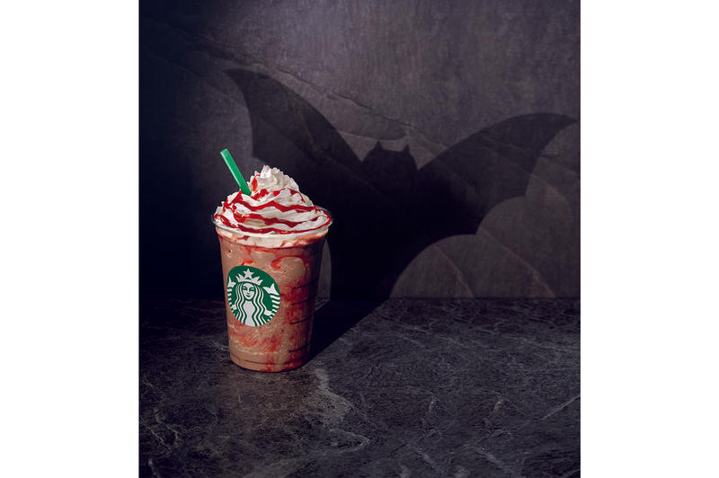Starbucks Vampire Frappuccino Halloween Zombie UK England