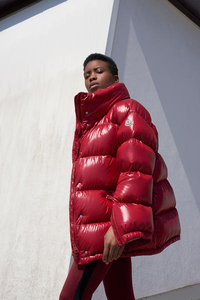 Moncler Stylebop oversized puffer jacket coat