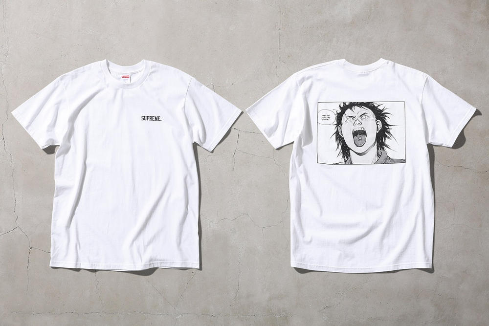 Supreme Fall Winter 2017 Akira Manga collaboration collection