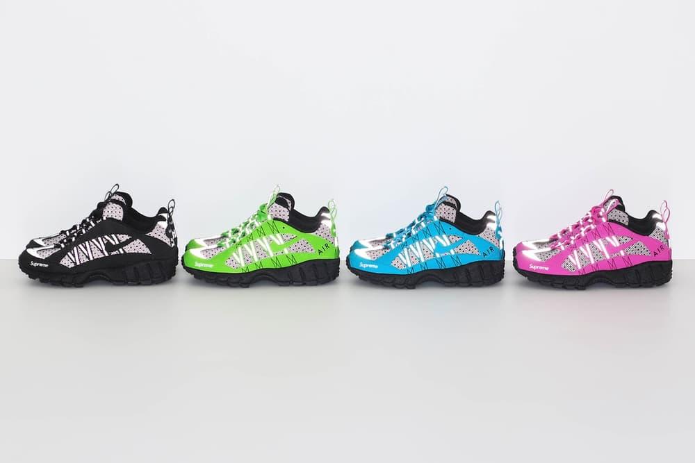 Supreme nike air humara sneaker apparel collection lookbook