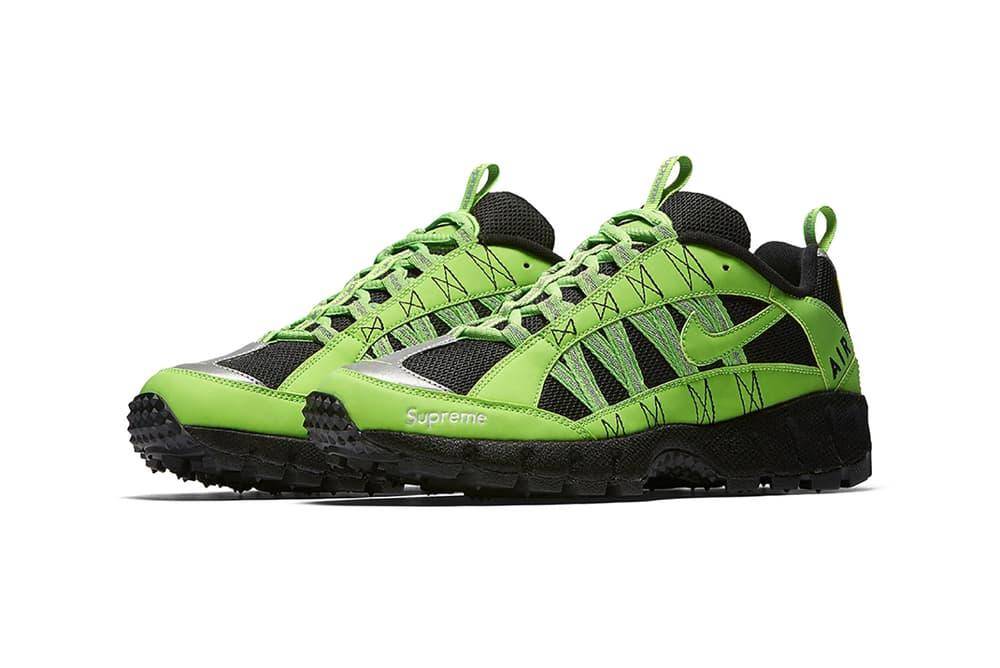 Supreme Nike Air Humara Neon Pink Green Blue Black Sneaker