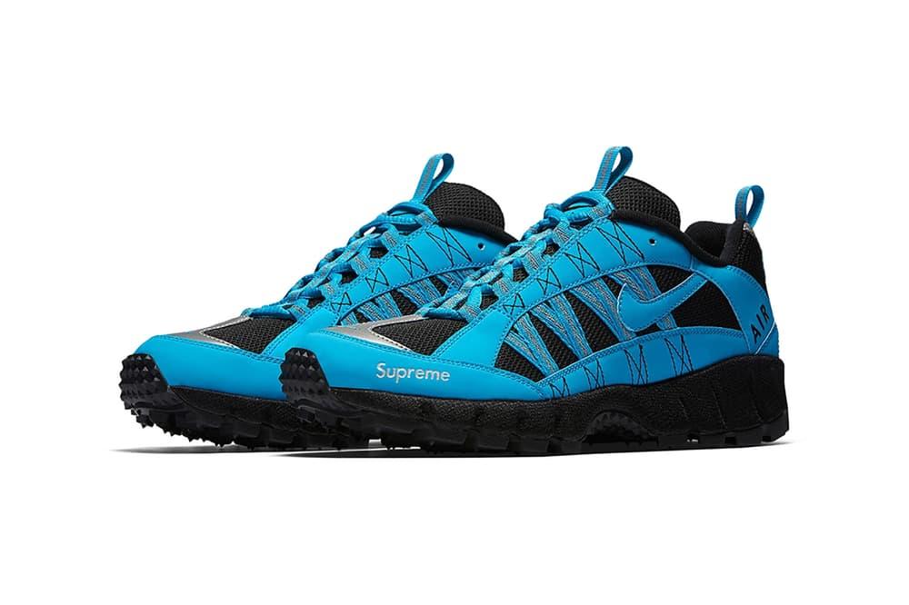 Supreme Nike Air Humara Neon Pink Green Blue Black Sneaker 98b652ae64df