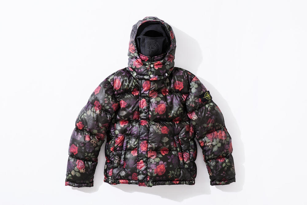Supreme Stone Island Fall 2017 Collection Floral